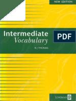 b.j. Thomas - Intermediate Vocabulary