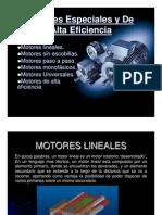 Motores especiales y de alta eficiencia