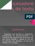 Expo Procesador de Textos