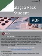 Instalando o Pack Student
