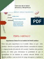 Perfil Cardiacorenal y Pancreatico