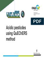 Acidic Pesticides