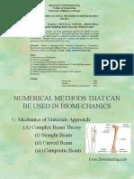 Fem Application Biomechanics