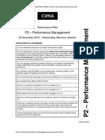 P2 Nov 2013 Question Paper