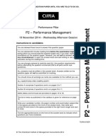 P2 November 2014 Question Paper