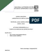 Cinetica quimica P1