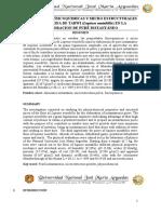 PROPIEDADES FÍSICOQUIMICAS Y MICRO ESTRUCTURALES DE LA HARINA DE TARWI (Lupinos mutabillis) EN LA  ELABORACION DE PURÉ INSTANTÁNEO