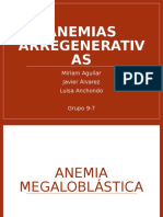 Anemias Arregenerativas Final