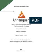 PROJETO INTEGRADOR Faculdade Anhanguera
