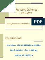 Proceso Quimico Del Cobre