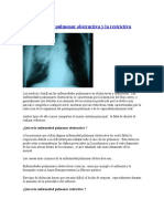 La Enfermedad Pulmonar Obstructiva y La Restrictiva
