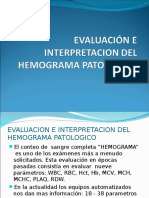 Hemograma Evaluacion e Interpretacion