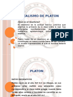 El Idealismo de Platon