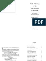 [David Tracy] a Short History Interpretation of Bible
