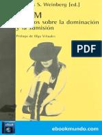 BDSM_ Estudios Sobre La Dominac - Thomas S. Weinberg
