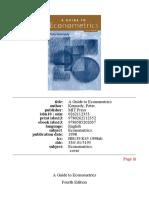 A Guide to Econometrics 4th ed By Kennedy 1998 MIT Press Book.pdf
