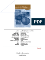 A Guide to Econometrics 4th ed By Kennedy 1998 MIT Press Book.pdf