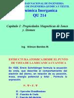 2ra Parte Del Cap 1 Estruct.atomica Mecanica Cuantica y Propiedades Magneticas