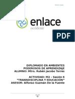 Transdisciplina y Educacion