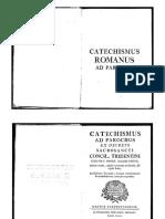 Catechismus Romanus Ad Parochos