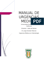 Manual Urgencias en odontologia