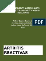 03. Enfermedades Articulares Inflamatorias Infecciosas Reactivas Practica