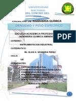 Informe de Instrumentacion Industrial