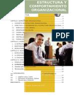 Estructura y Comportamiento Organizacional