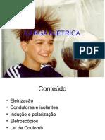 CARGA ELÉTRICA