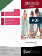 Maestriìa en Educacion Docencia e Investigacion Universitaria