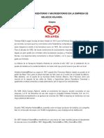 Analisis Del Microentorno y Macroentorno en La Empresa de Helados Holanda