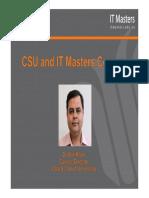 ITM CSU Courses - Arif