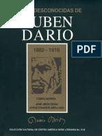 Cartas Desconocidas de Rubén Dario