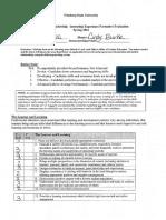 internship - evaluation 1