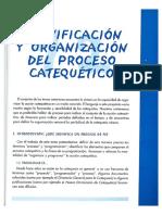 Planificacion y Organizacion Del Proceso Catequético