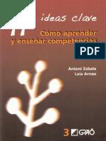 11 Ideas Clave Cómo Aprender y Enseñar Competencias-FREELIBROS.org