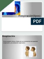 Respiracióntipos