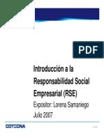 Introduccion RSE