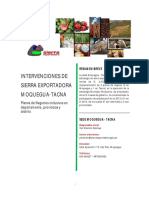 Sierra Exportadora Tanca 2003