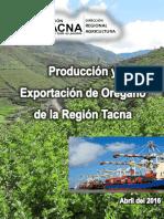 Produccion Exportacion Oregano