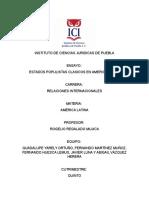 Ensayo Completo de Populismo en America Latina