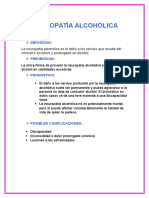 Neuropatia Alcoholica