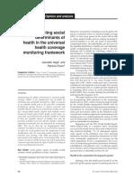 Dss y Salud Universal