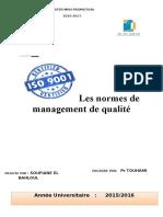 1les Normes de Management de Laqualité Word