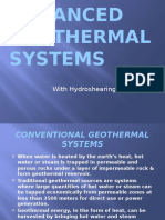 Ppt- Enhanced Geothermal Systems With Hydroshearing