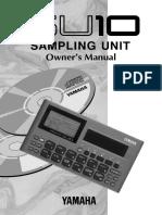 Yamaha SU-10 Owner's Manual