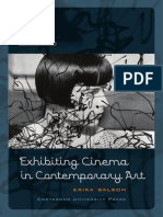 Exhibiting Cinema in Contemporary Art - Erika Balsom