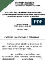 PARTIDAS VALORATIVAS O ESTIMADAS   31-03-2016.ppt.pptx