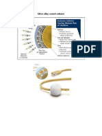 Silver Alloy Coated Catheter