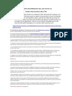 Reporte Informativo Del Dia 09 09 16